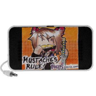 Mustache Ninja Speakers