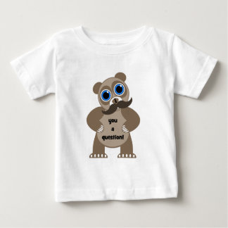 mustache panda bear baby T-Shirt