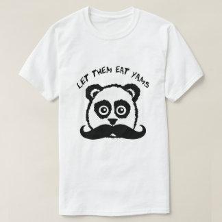 Mustache Panda Let Them Eat Yams T-Shirt