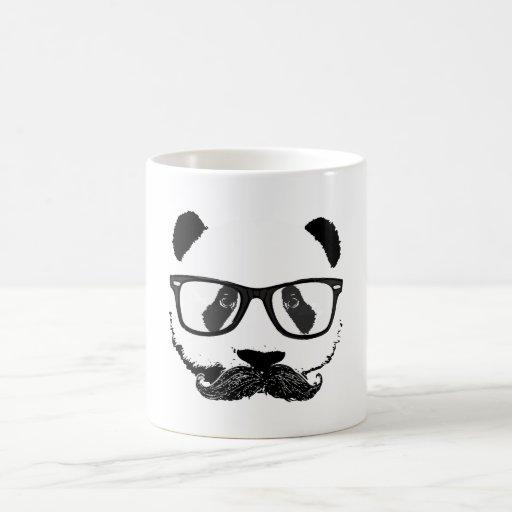 Mustache Pandaz In Da Disco Coffee Mug