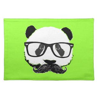 Mustache Pandaz In Da Disco Placemats