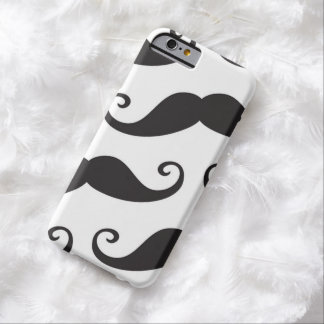 Mustache Party Shower Father Dad Husband Love Fun Barely There iPhone 6 Case