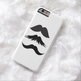 Mustache Party Shower Father Dad Husband Santa Barely There iPhone 6 Case