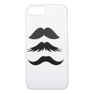 Mustache Party Shower Father Dad Husband Santa iPhone 8/7 Case