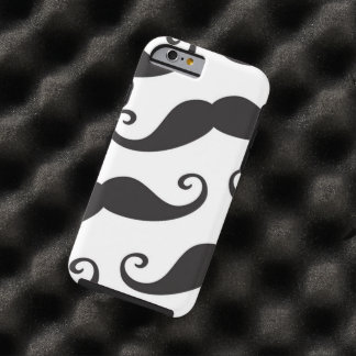 Mustache Party Shower Father Dad Husband Santa Tough iPhone 6 Case
