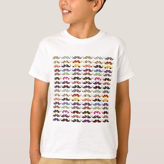 Mustache pattern is cute T-Shirt