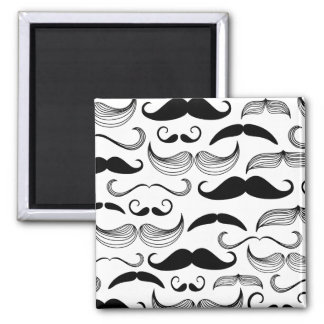 Mustache Pattern Magnet