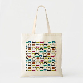 Mustache Pattern Party Supplies Bags