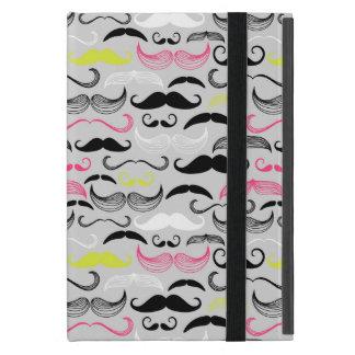 Mustache pattern, retro style case for iPad mini