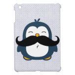 Mustache Penguin iPad Mini Cover