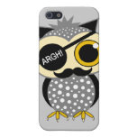 mustache pirate owl cover for iPhone 5