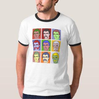 Mustache Pop Art T-Shirt