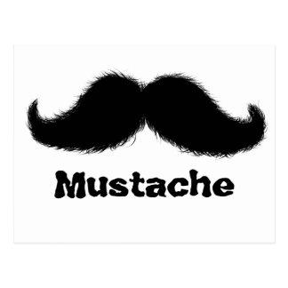 Mustache Potcard Postcard