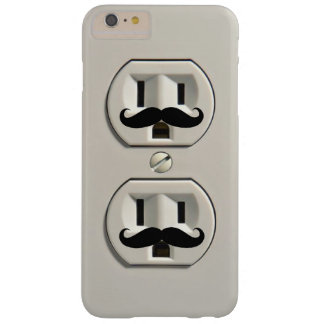 Mustache power outlet barely there iPhone 6 plus case