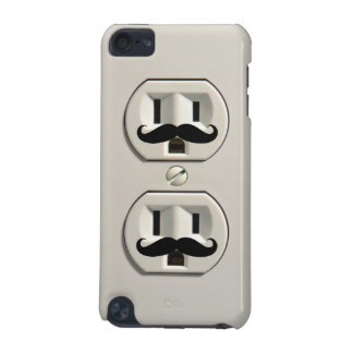 Mustache power outlet iPod touch 5G cases