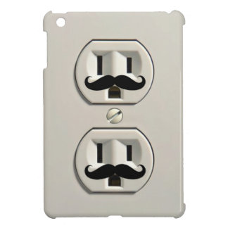 Mustache power outlet case for the iPad mini