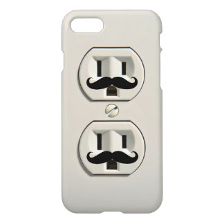 Mustache power outlet iPhone 8/7 case