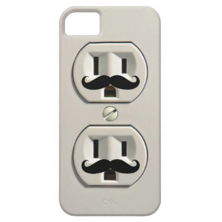 Mustache power outlet iPhone SE/5/5s case