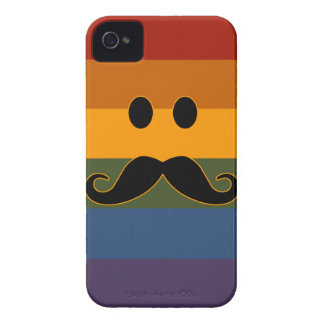 Mustache Pride custom Blackberry case
