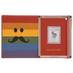 Mustache Pride custom cases iPad Folio Cover