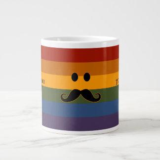 Mustache Pride custom mugs