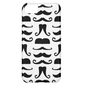 Mustache Print Case For iPhone 5C