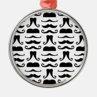 Mustache Print Ornament