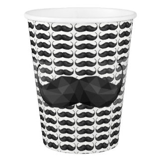 Mustache print Party Cup Birthday or Event