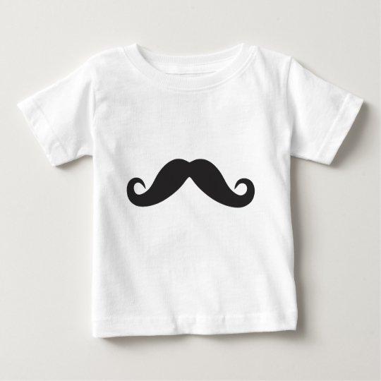 Mustache Qpc Template Baby T-Shirt