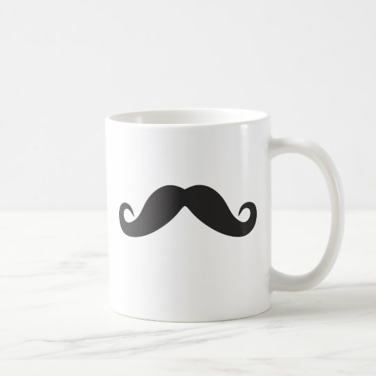 Mustache Qpc Template Coffee Mug