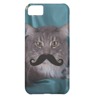 Mustache Qpc Template Cover For iPhone 5C