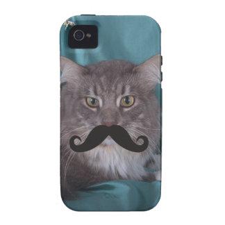 Mustache Qpc Template iPhone 4/4S Case