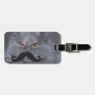 Mustache Qpc Template Travel Bag Tag