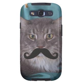 Mustache Qpc Template Samsung Galaxy S3 Cases