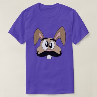 Mustache Rabbit T-Shirt