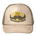 Mustache ride mesh hats