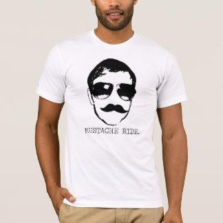 Mustache Ride. T-Shirt