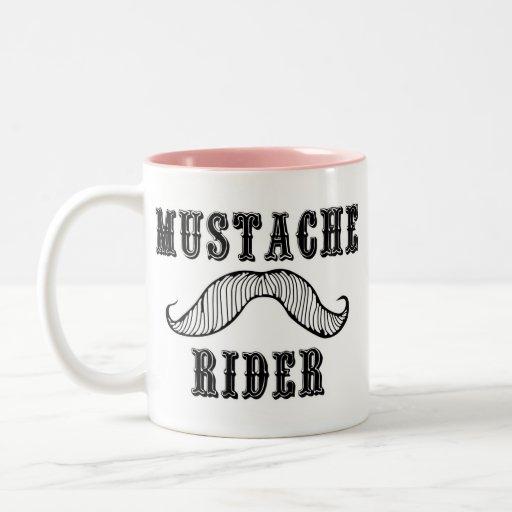 Mustache Rider Mug