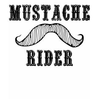 Mustache Rider shirt