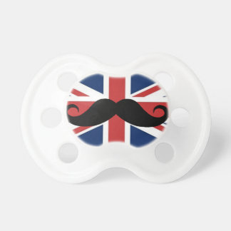 Mustache Royal Baby Pacifier