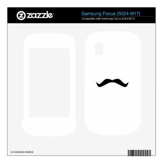 Mustache Skin For Samsung Focus