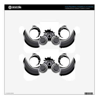 Mustache Skin For PS3 Controller