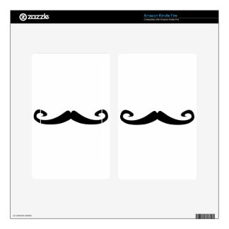 Mustache Skins For Kindle Fire