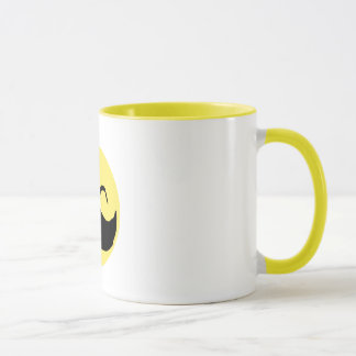 Mustache Smiley 2 Mug