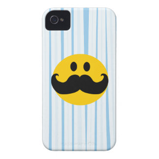 Mustache Smiley iPhone 4 Case