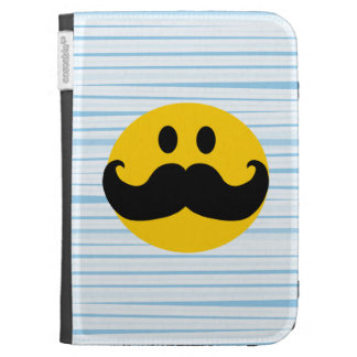 Mustache Smiley Kindle Keyboard Cases