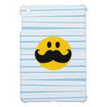 Mustache Smiley iPad Mini Cases