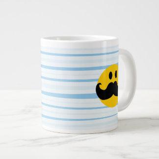 Mustache Smiley Extra Large Mug