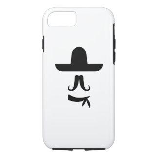 Mustache & Sombrero Pictogram iPhone 7 Case