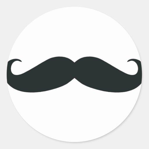 Mustache Stache Stickers